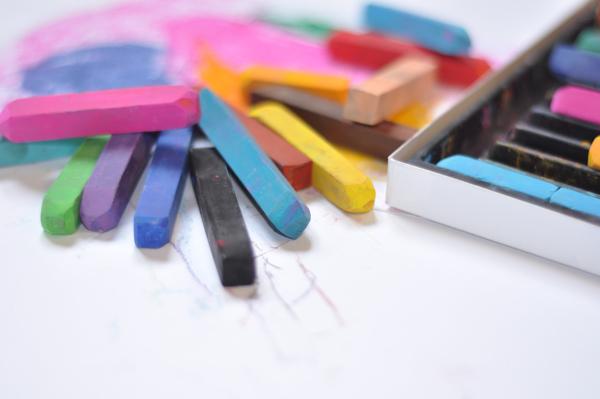 Zone scolaire Nager en couleur 1